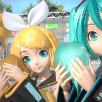 Hatsune Miku, Screenshot, Video Games, Vocaloid