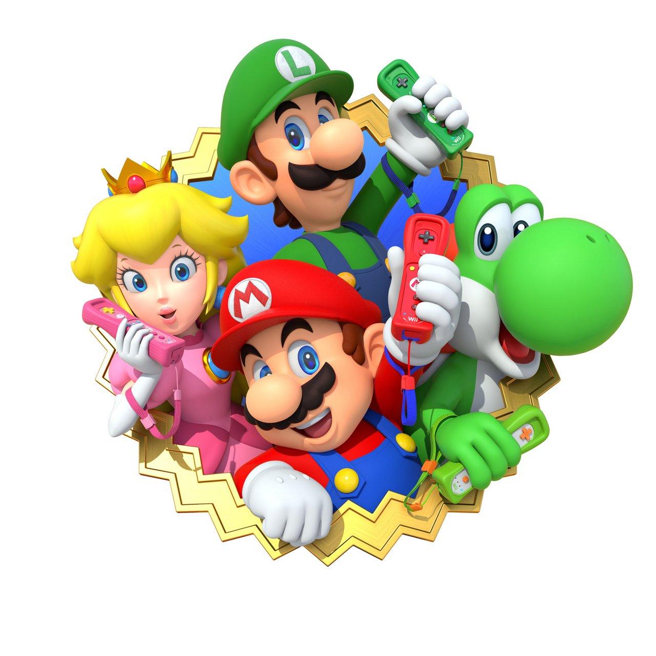 Diseños de personajes para Mario Party 10