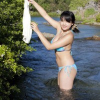 Bikini, Shinozaki Ai, Visual Young Jump