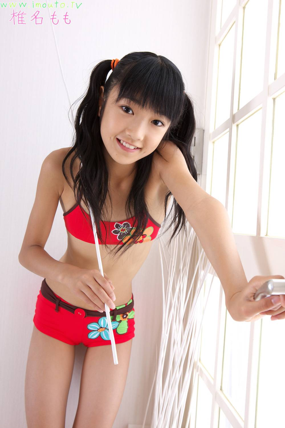 gravure promotion pictures, Shiina Momo | TechnOtaku Gallery