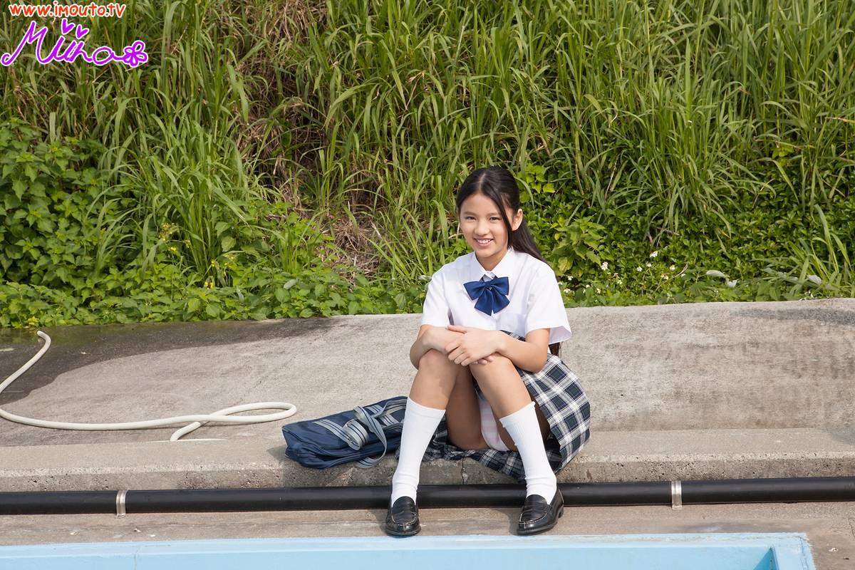 gravure promotion pictures, Tsubaki Miina | TechnOtaku Gallery