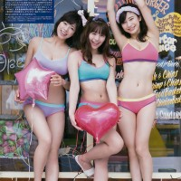 Asakawa Nana (浅川梨奈), Ogura Yuka (小倉優香), Wachi Minami (わちみなみ), Young Magazine