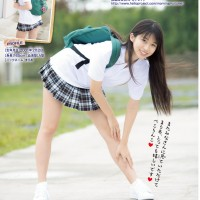 Magazine, Makino Maria (牧野真莉愛), Morning Musume, Shounen Champion