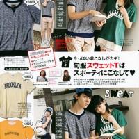 Kanazawa Tomoko (金澤朋子), Magazine