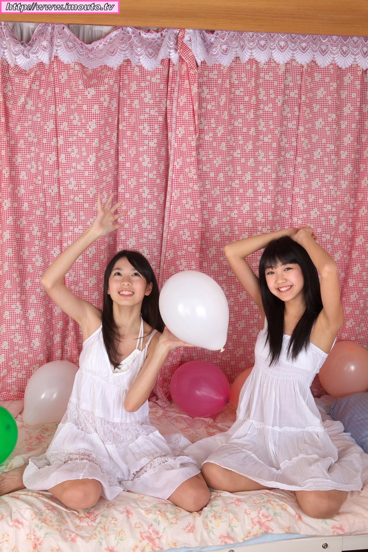 promotion pictures, Makihara Ayu, Shiina Momo | TechnOtaku Gallery