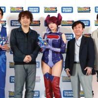 Press conference, Shinozaki Ai (篠崎愛)