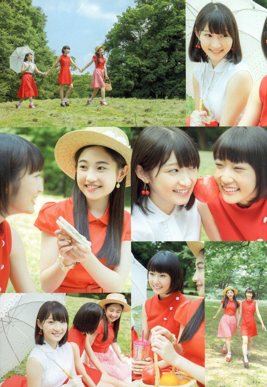 Danbara Ruru (段原瑠々), Juice=Juice, Magazine, Miyamoto Karin (宮本佳林), UTB ~ Up To Boy, Yanagawa Nanami (梁川奈々美)