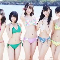 Bikini, Matoba Karin (的場華鈴), Nakamura Akari (中村朱里), Nemoto Nagi (根本凪), Niji no Conquistador (虹のコンキスタドール), Tsurumi Moe (鶴見萌), Yamato Ao (大和明桜)