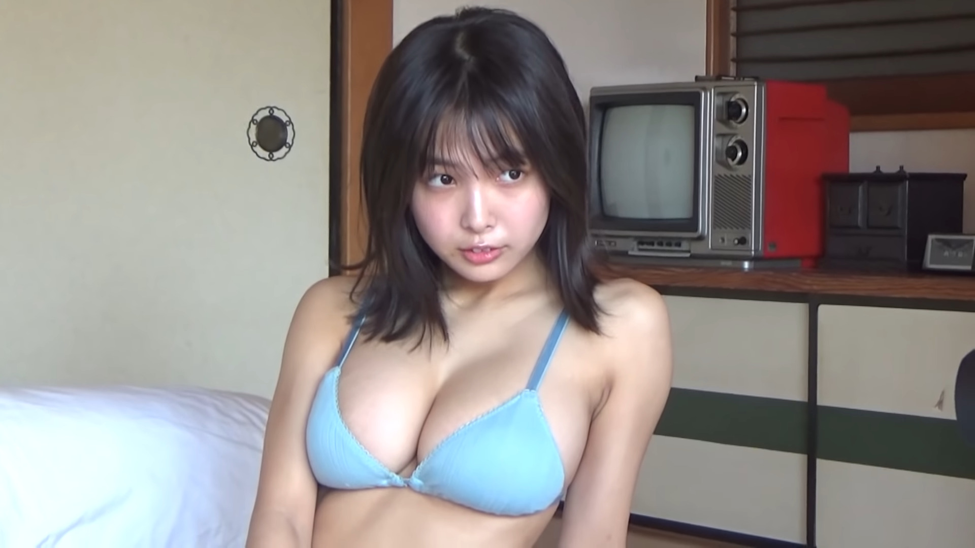 Bikini, Oppai (おっぱい), Screenshot, Teramoto Rio (寺本莉緒)